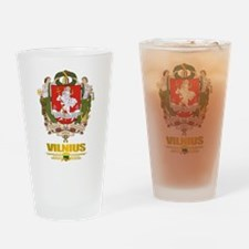 """Vilnius"" Drinking Glass"