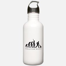 Funny Craftspeople Water Bottle