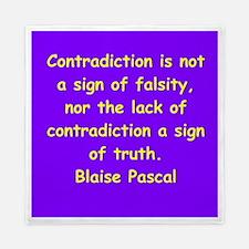 blaise pascal Queen Duvet