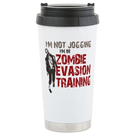 ZOMBIE EVASION Stainless Steel Travel Mug