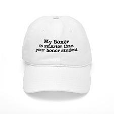 Honor Student: My Boxer Baseball Cap