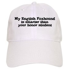 Honor Student: My English Fox Baseball Cap