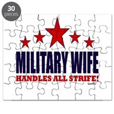 Military Wife Handles All Strife Puzzle