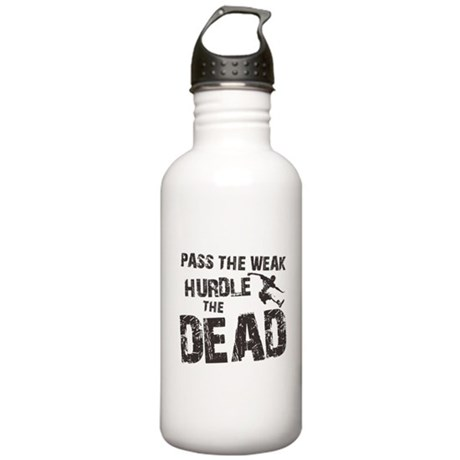 HURDLE THE DEAD Stainless Water Bottle 1.0L