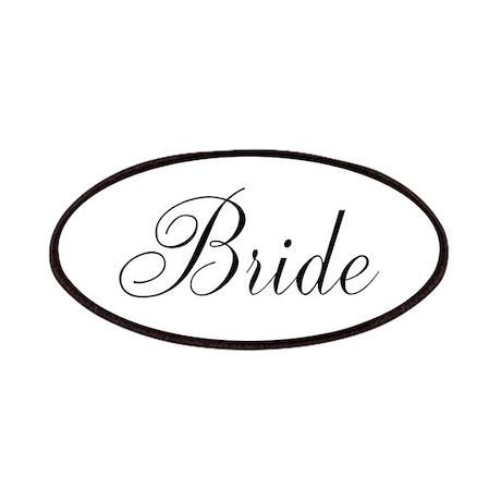 Bride Black Script Patches