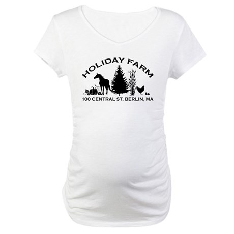 Farm Logo Maternity T-Shirt