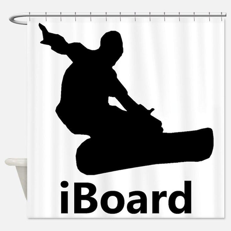 iBoard Shower Curtain