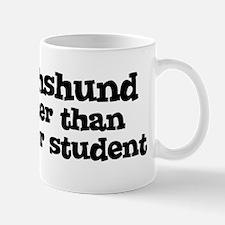 Honor Student: My Dachshund Mug