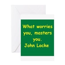 john locke Greeting Card