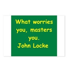 john locke Postcards (Package of 8)