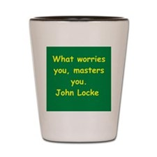john locke Shot Glass