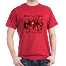 T-Shirt, Kyokushin Karate, Martial arts