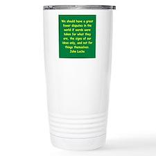 john locke Travel Mug