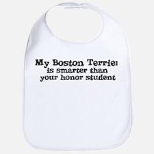 Honor Student: My Boston Terr Bib