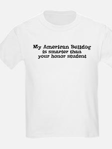 Honor Student: My American Bu Kids T-Shirt
