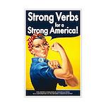 "Strong Verbs Poster (11""x17"")"