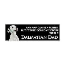 Dalmatian Dad Car Magnet 10 x 3