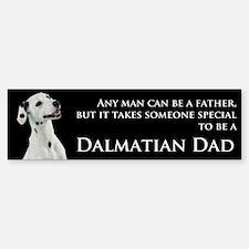Dalmatian Dad Bumper Bumper Sticker