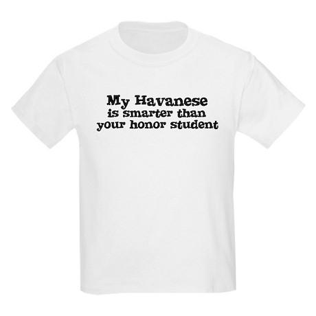 Honor Student: My Havanese Kids T-Shirt