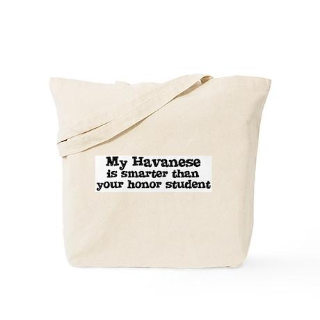 Honor Student: My Havanese Tote Bag