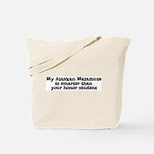 Honor Student: My Alaskan Mal Tote Bag