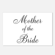Mother of the Bride Black Scr Postcards (Package o
