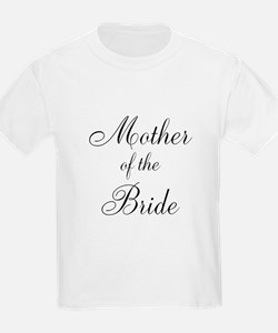 Mother of the Bride Black Scr T-Shirt