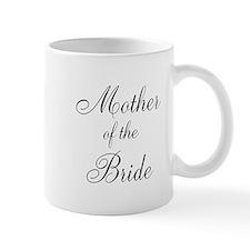 Mother of the Bride Black Scr Mug