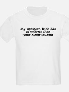 Honor Student: My Alaskan Kle Kids T-Shirt