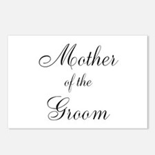 Mother of the Groom Black Sci Postcards (Package o
