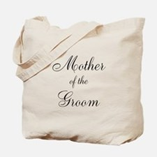 Mother of the Groom Black Sci Tote Bag