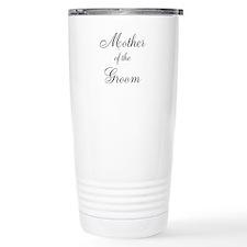 Mother of the Groom Black Sci Travel Mug