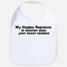 Honor Student: My Golden Retr Bib
