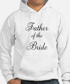 Father of the Bride Black Scr Jumper Hoody