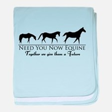 Need You Now Equine baby blanket