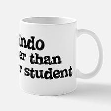 Honor Student: My Jindo Mug