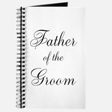 Father of the Groom Black Scr Journal