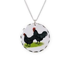 Australorp Chickens Necklace