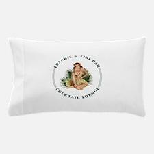 Frankie's Tiki Bar Hula Girl Pillow Case