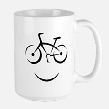 Bike Smile Large Mug