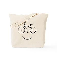 Bike Smile Tote Bag