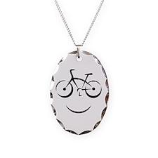Bike Smile Necklace