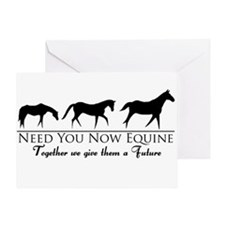 Need You Now Equine Greeting Card
