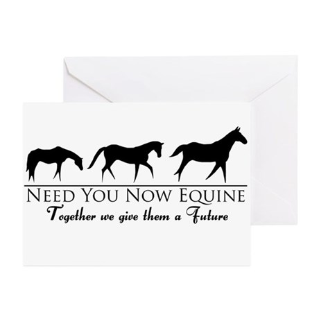 Need You Now Equine Greeting Cards (Pk of 10)
