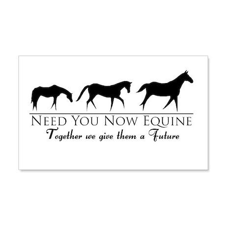 Need You Now Equine 22x14 Wall Peel