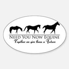 Need You Now Equine Decal