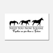 Need You Now Equine Car Magnet 20 x 12