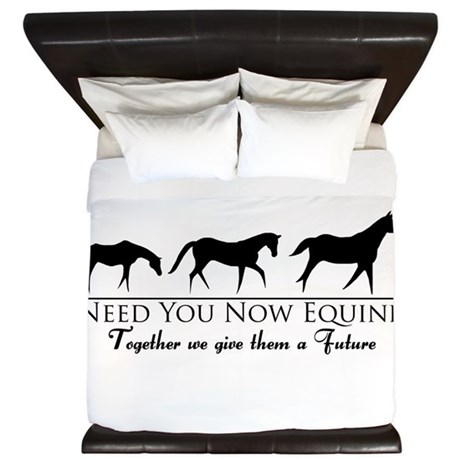 Need You Now Equine King Duvet