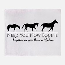 Need You Now Equine Throw Blanket