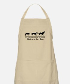 Need You Now Equine Apron